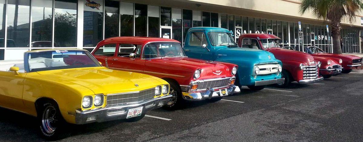 Clay County Cruzers Car Club Northeast Florida - Classic car club